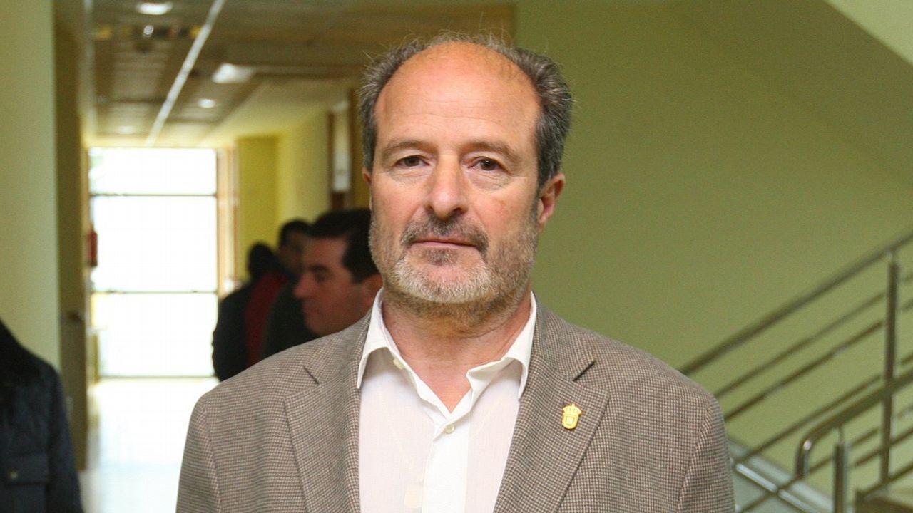 El presidente de la Diputación de Ourense, Jose Manuel Baltar