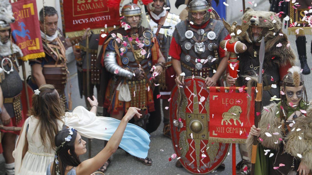 En Lugo hubo que aclarar que el Arde Lucus no es una romería vikinga