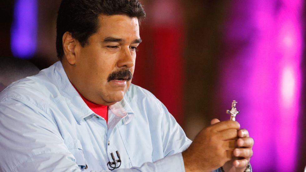 Maduro: «Rajoy está detrás de una conjura contra el Gobierno de Venezuela».El ministro de Asuntos Exteiores, José Manuel García Margallo