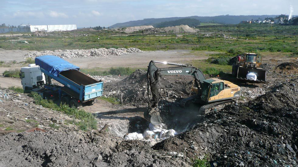 Quema de la patata afectada por la polilla guatemalteca en Cogersa