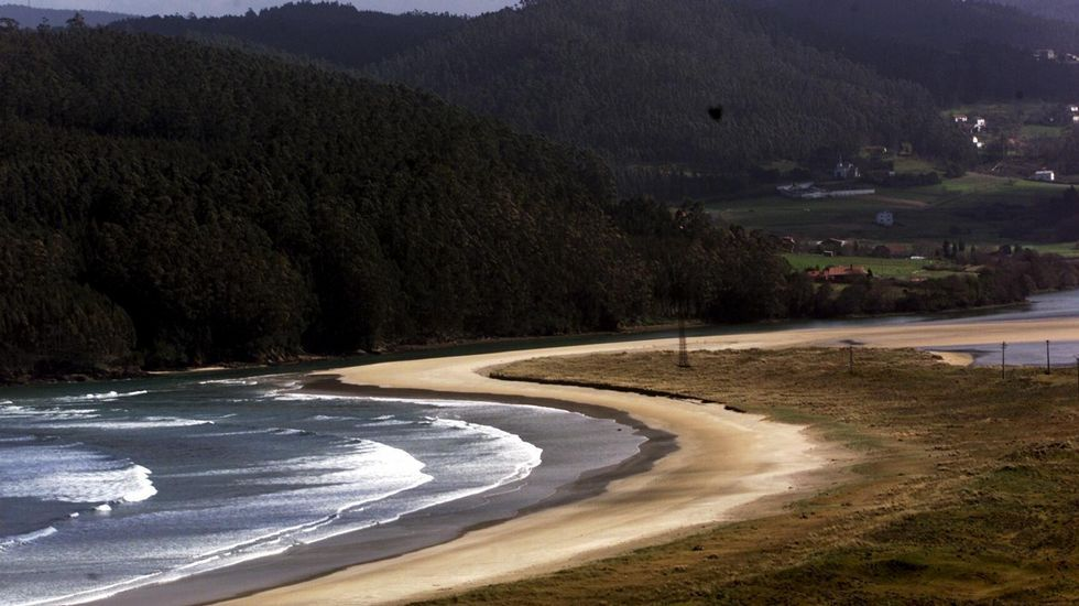 Valdoviño. Playa de Vilarrube