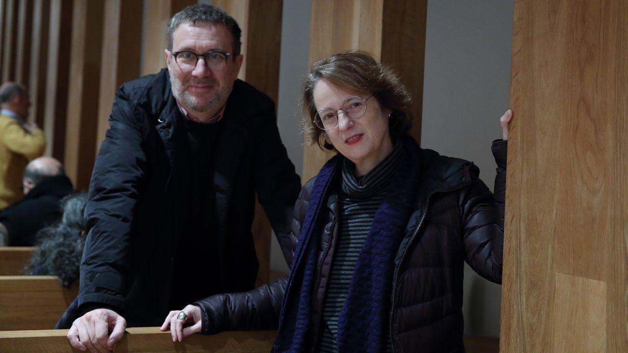 Luisgé Martín y Marta Sanz debatieron en la Fundación Luis Seoane, entre otros asuntos, sobre el valor de la razón