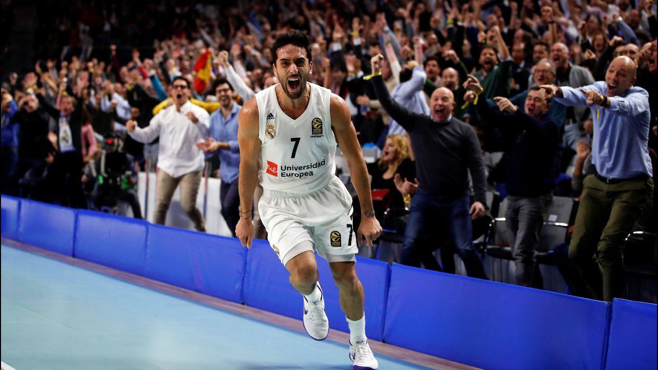 La fiesta del Breo tras destrozar al Madrid