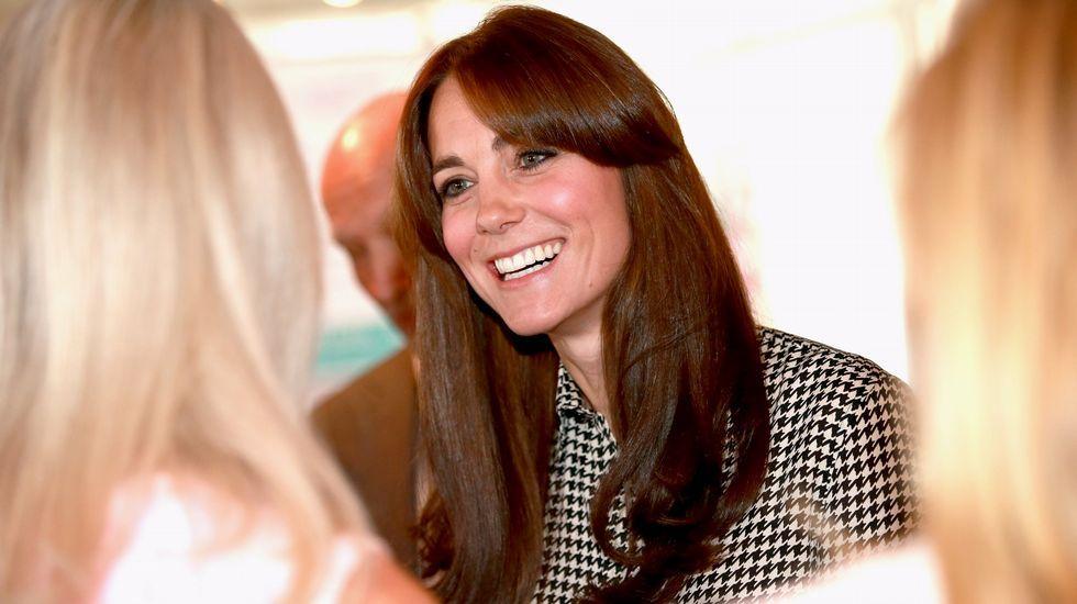 El nuevo look de Kate Middleton.