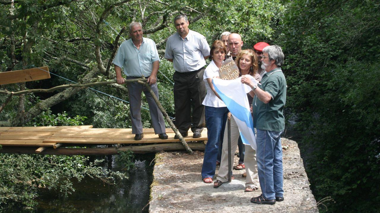 El concello de Ribadumia homenajea a Elida Abal