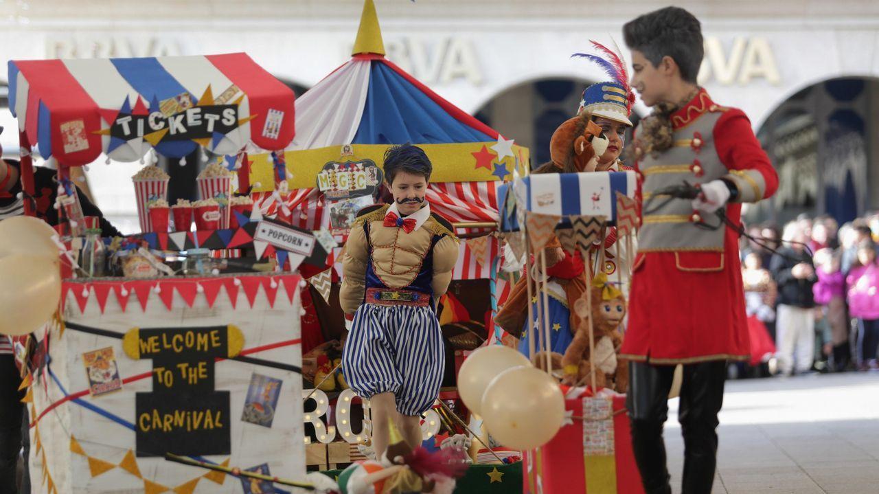 O Desfile Infantil de Disfraces de Lugo, en imaxes