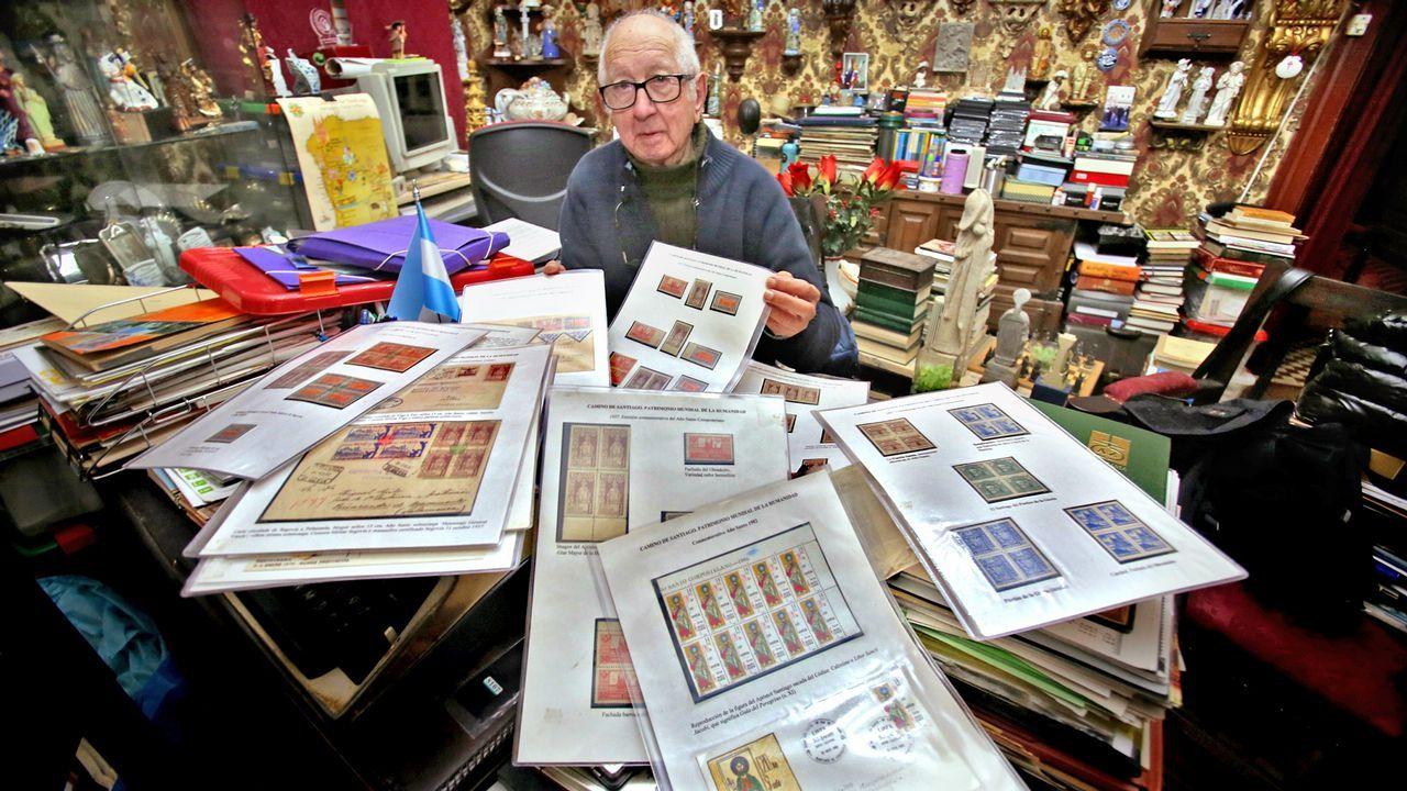 81 años para atesorar la mejor colección de sellos de los Caminos de Santiago.Fernando Alonso celebrado el triunfo en Daytona