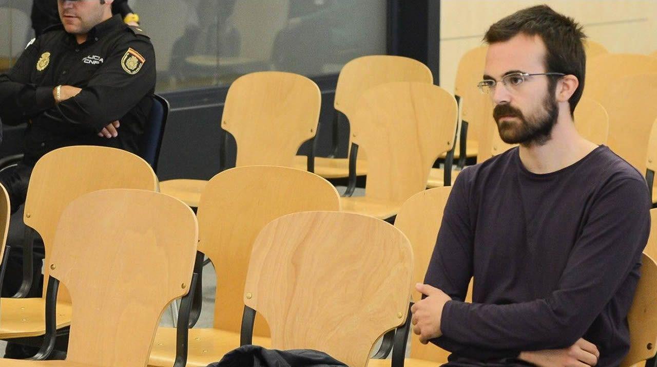 Carlos Calvo presta declaración en la Audiencia (mayo del 2014)