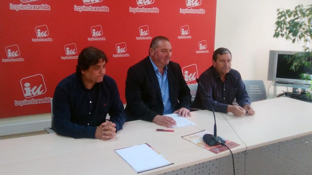 Alejandro Suárez, Ramón Argüelles y Fernando Díaz Rañón