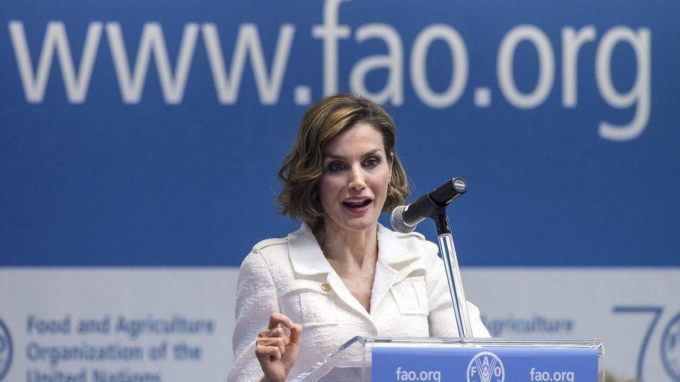 .Y lo repitió cuando fue nombrada embajadora de la FAO.