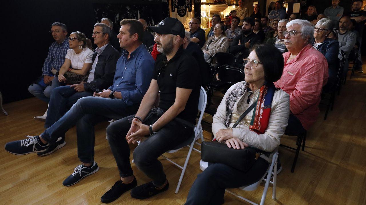 El alcalde de Oviedo, Alfredo Canteli y el teniente de alcalde, Ignacio Cuesta