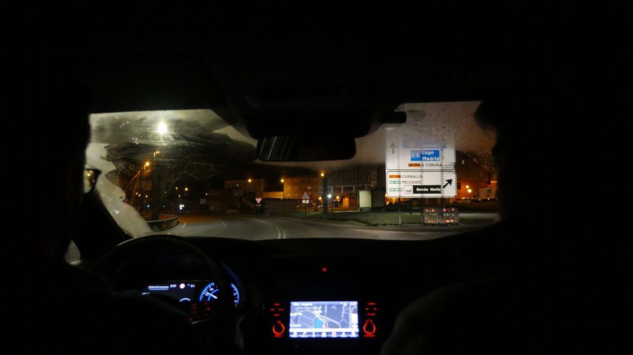Salida del Polígono de Sabón, en Arteixo, el martes a las 06.50 horas