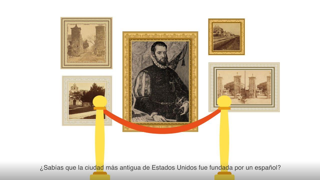 El asturiano que fundó la ciudad más antigua de EEUU