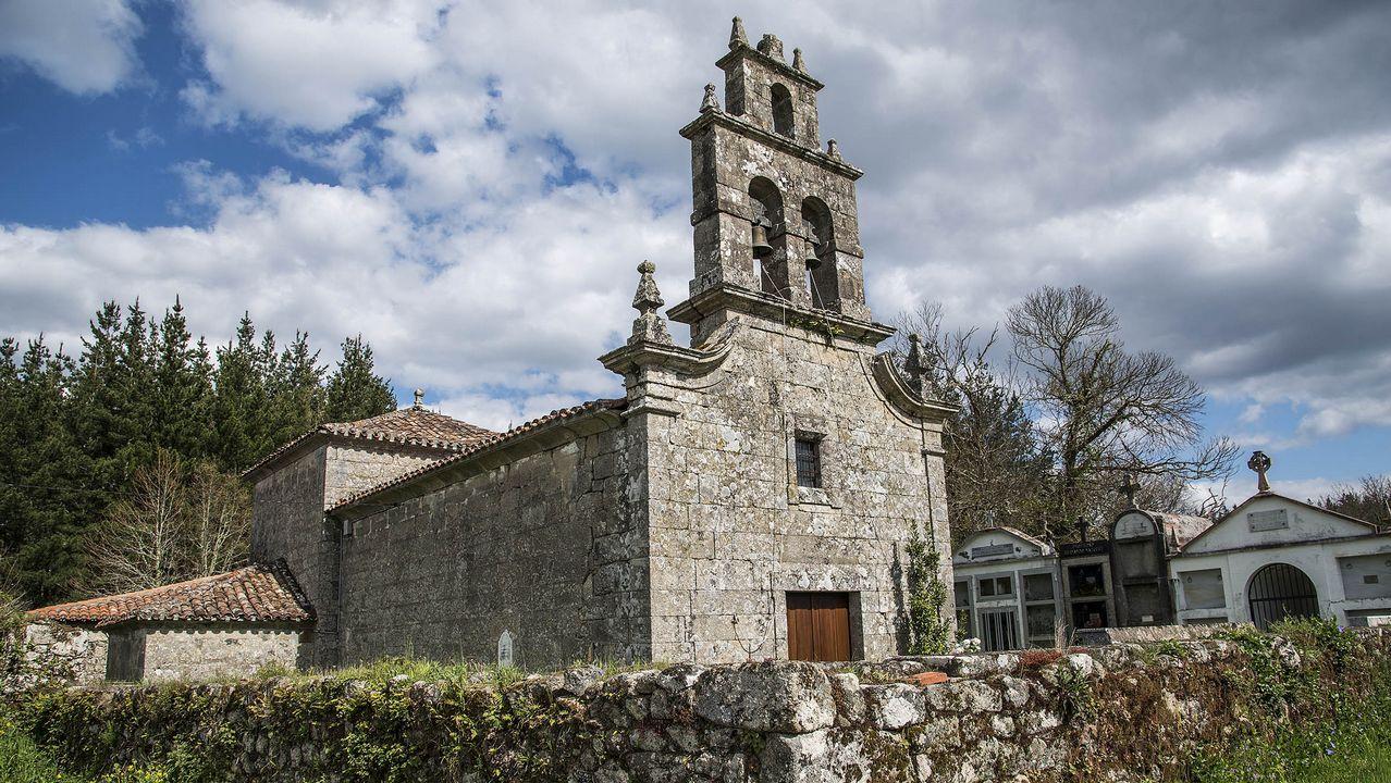 La iglesia parroquial de San Xulián fue construida en el siglo XVIII