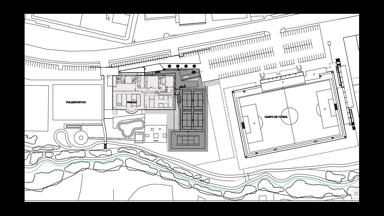 Arteixo aprueba la construcci n de pistas de p del y tenis for Piscina arteixo