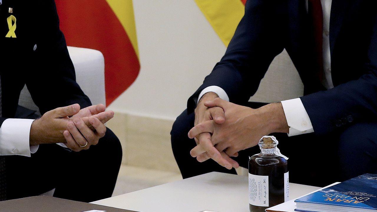Pedro Sánchez presenta su plan de gobierno en el Congreso.Torra viaja este miércoles a Edimburgo donde tiene previsto reunirse con la primera ministra escocesa y con la fugada exconsejera Ponsatí