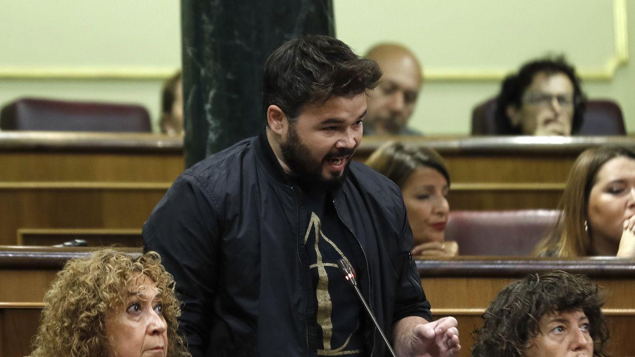 Las detenciones en Cataluña llegan al Congreso.