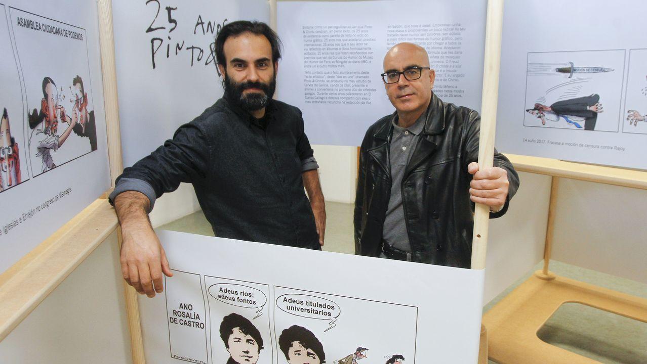 Los emigrantes recogen el premio Ourensanía.Alineación del CD Lugo en enero de 1995