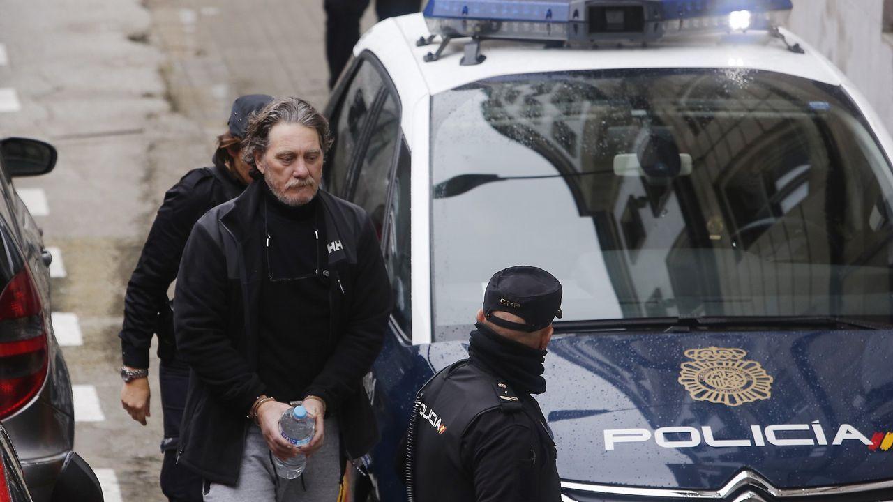 Febrero arrancaba con la operación Mito contra el narcotráfico y el balnqueo de capitales y la que fue detenido Sito Miñanco.
