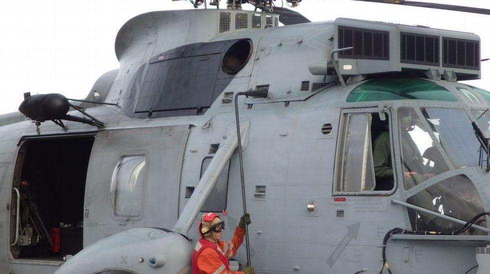 La vida de Osama Bin Laden en las cuevas de Tora Bora.El helicóptero embarcado en el Patiño