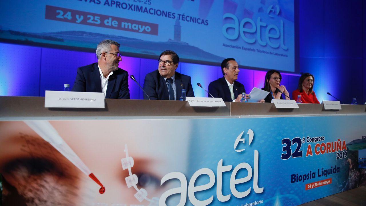 Inauguración congreso técnicos de laboratorio