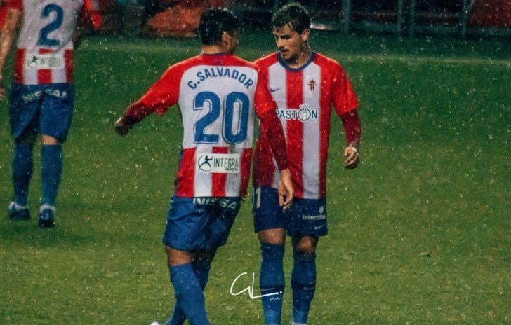 Mossa Sergio Alvarez Real Oviedo Sporting derbi Carlos Tartiere.Cris Salvador Isma Cerro