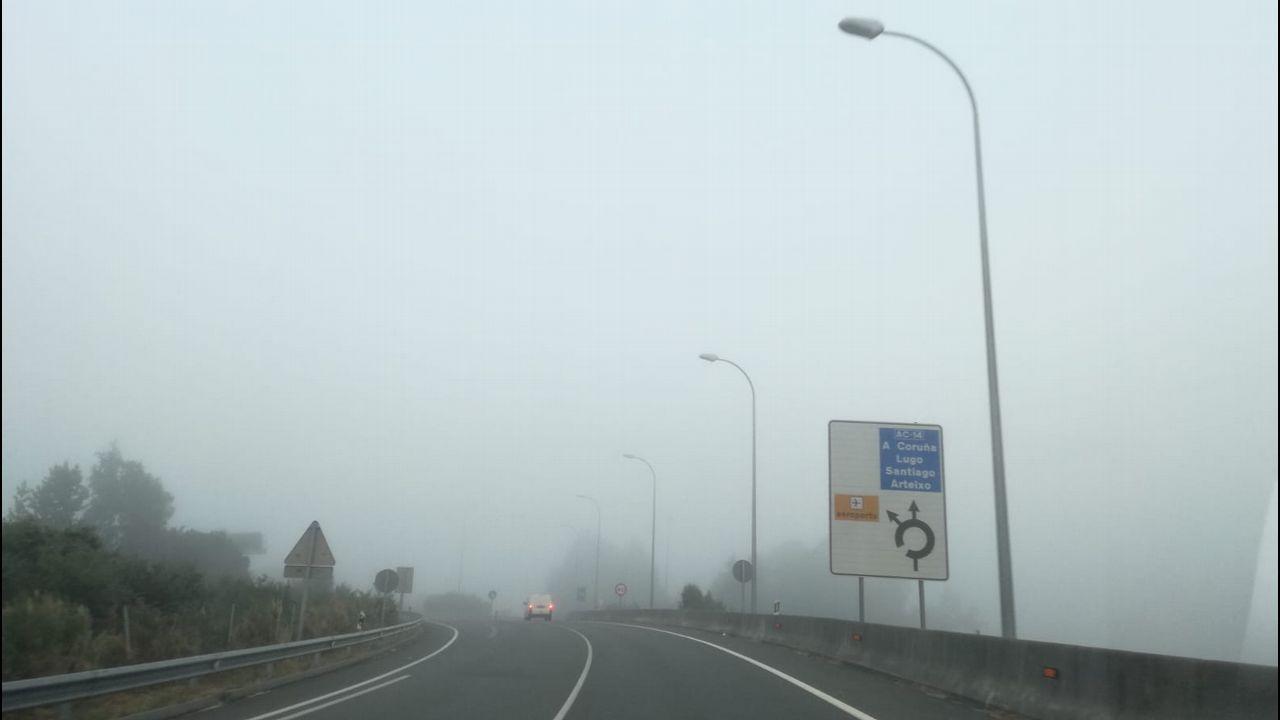 Niebla en Alvedro