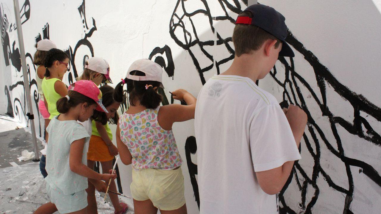 Malpica crece con el arte infantil.