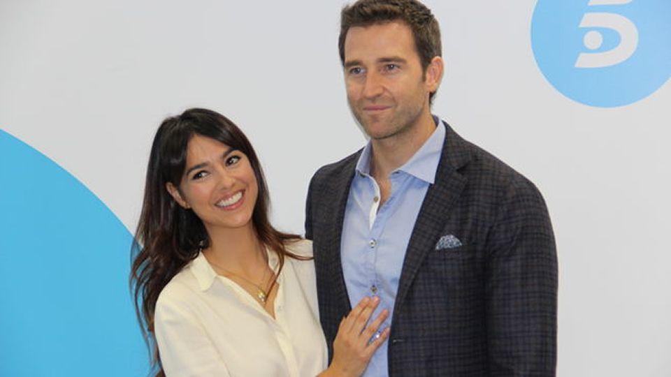 Cristina Brondo y Fernando Gil, interpretan a Sofía y Juan Carlos.