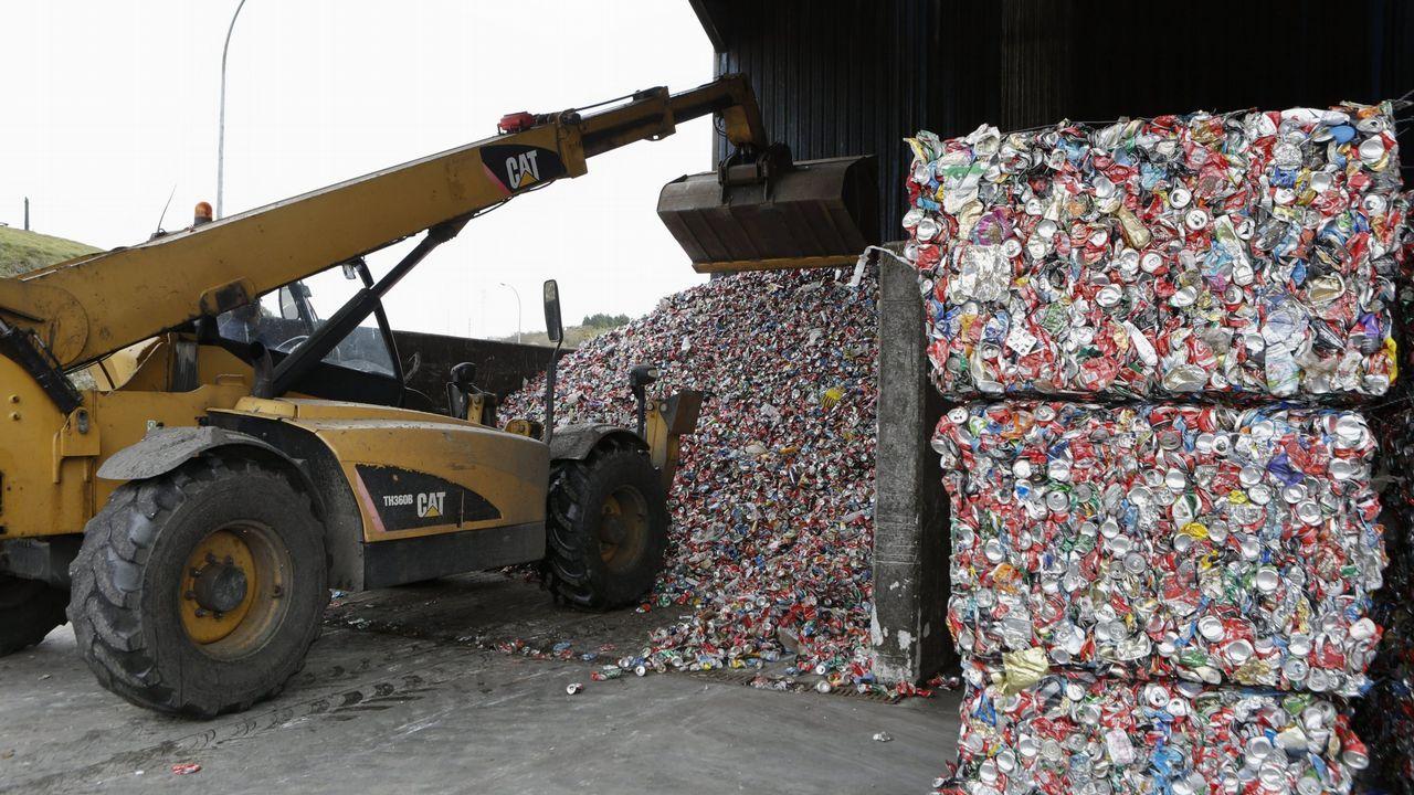 .Planta de reciclaje de Sogama