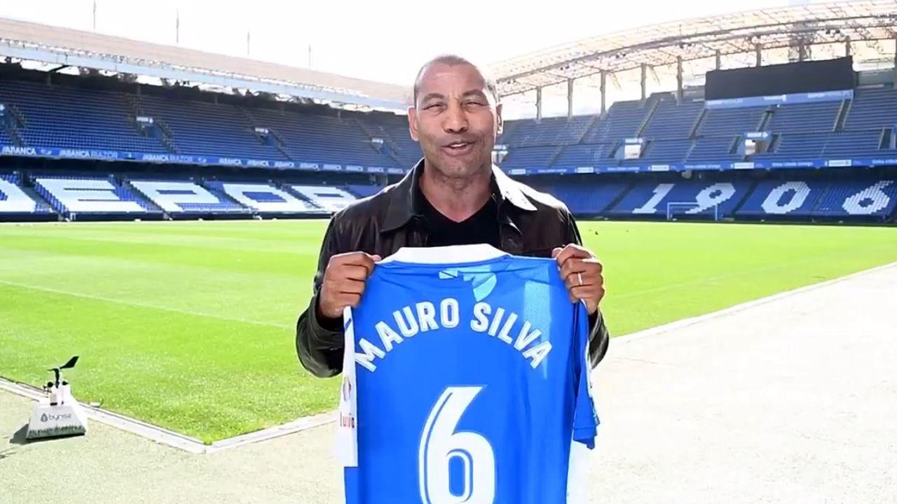 Rueda de prensa de Mauro Silva