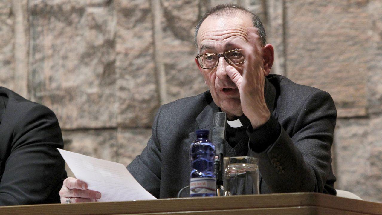 .El arzobispo de Barcelona, Juan José Omella