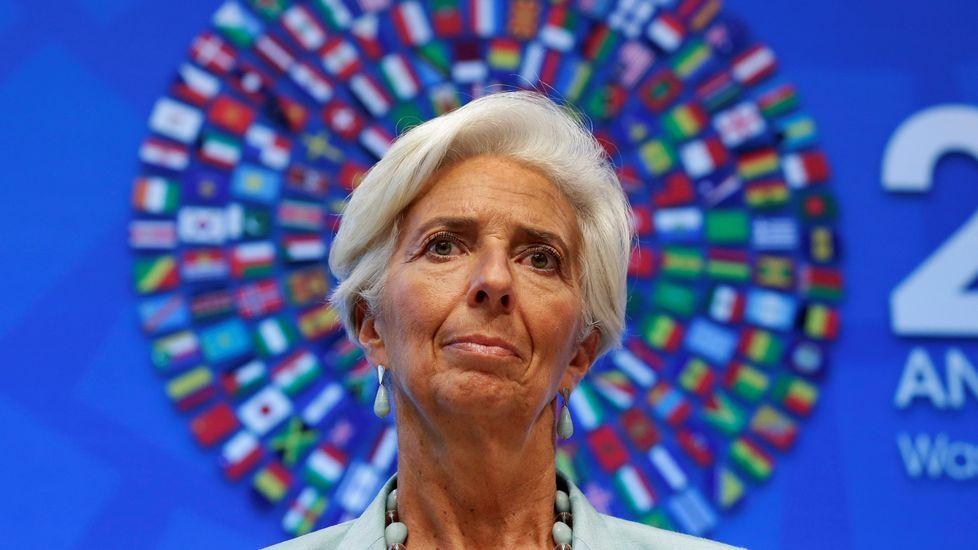Ivanka Trump, Christine Lagarde y Angela Merkel