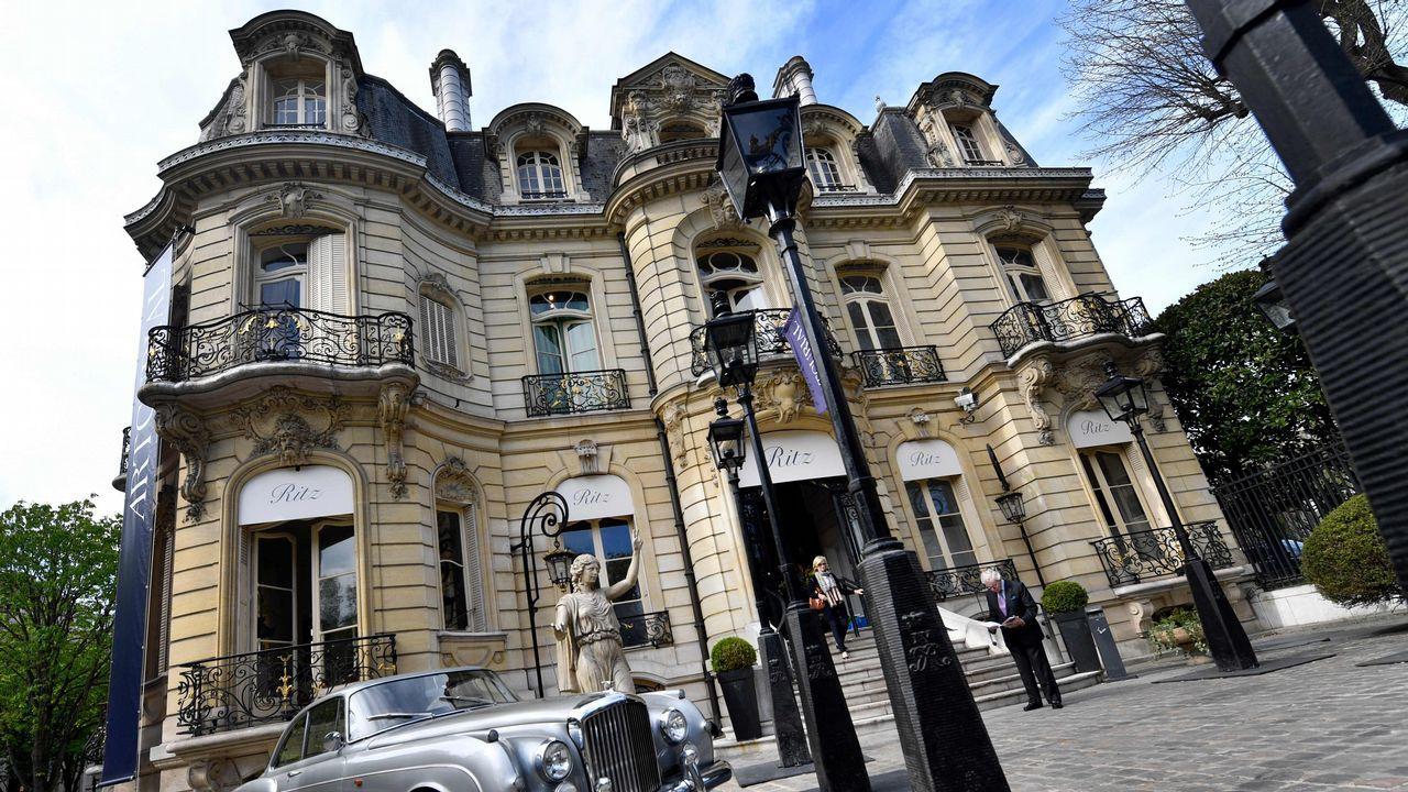Fachadas del hotel Ritz de París