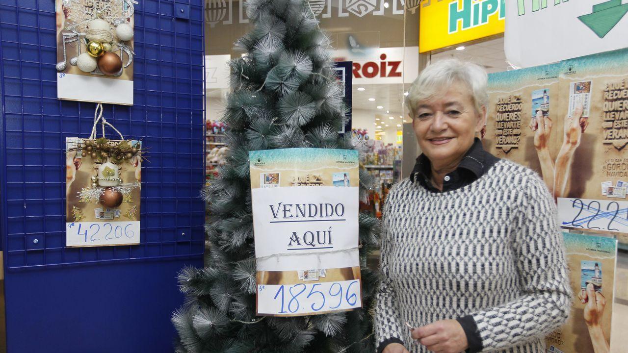Administración número 5 de Vilagarcía, donde se vendió un quinto premio
