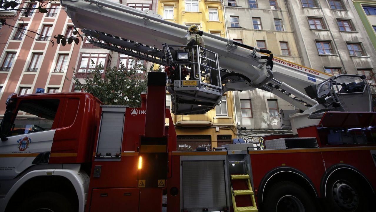 Imagen de archivo de una intervención de los bomberos
