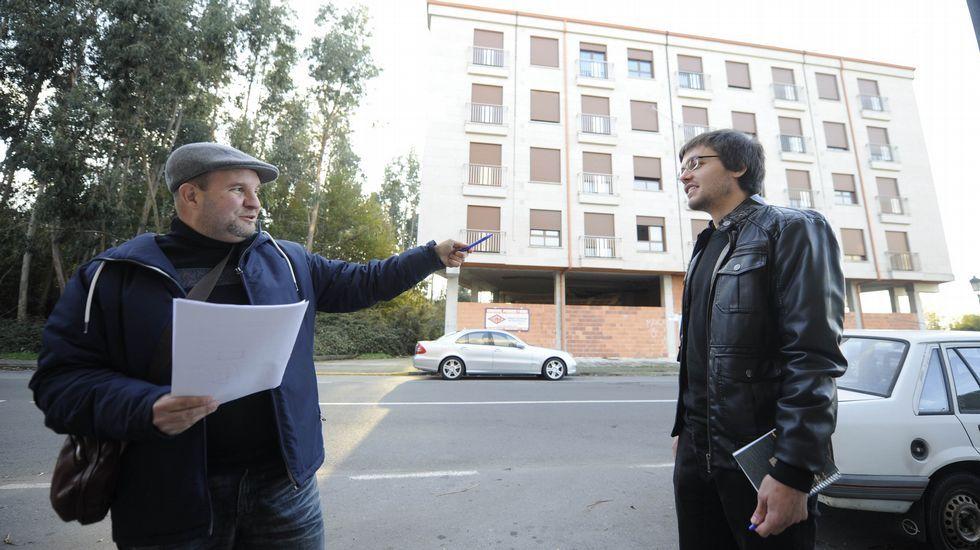 Viviendas del banco malo en Oviedo