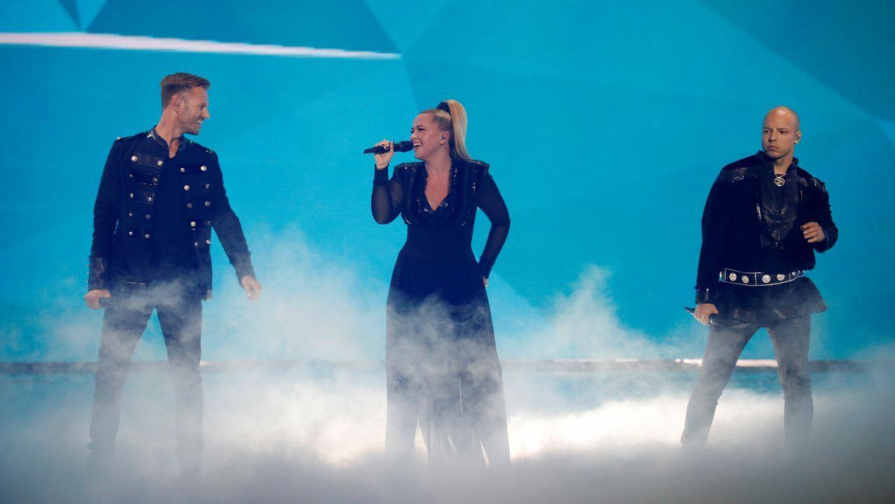 El trío Noruego KEiiNO concurre con «Spirit in the Sky»