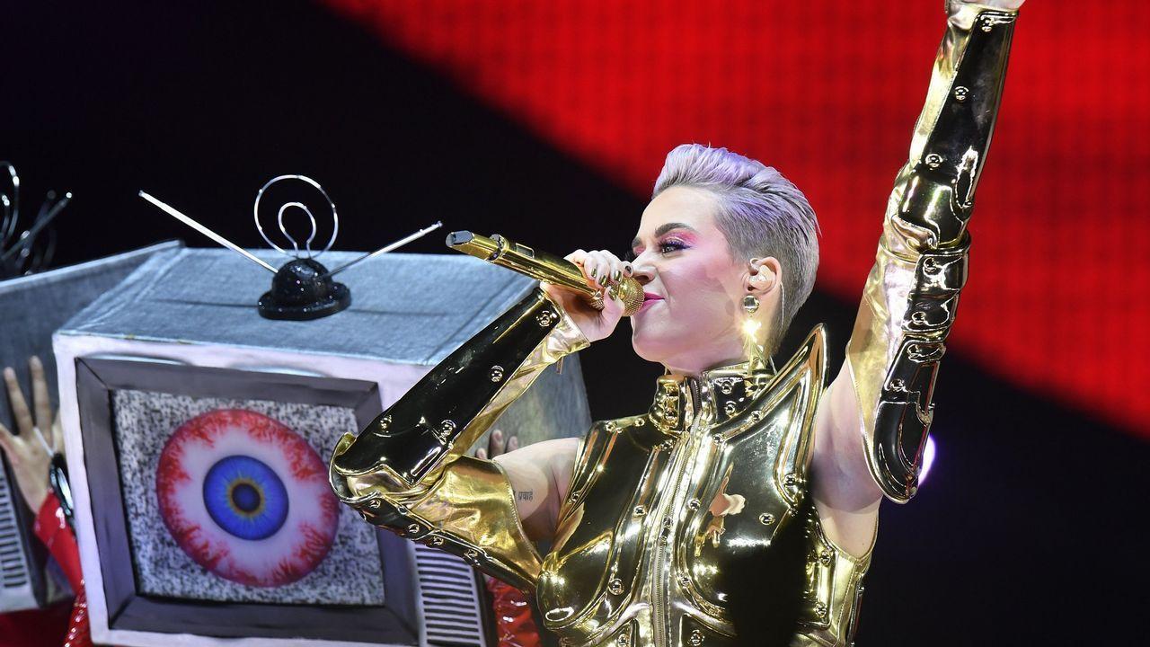 .Katy Perry está en la programación de Rock in Rio Lisboa 2018