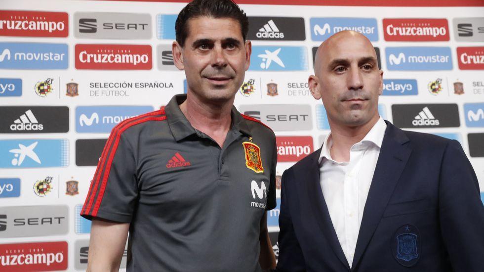 En directo: Fernando Hierro comparece como seleccionador español
