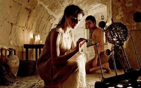 Rachel Weisz da vida en «Ágora» a la filósofa y matemática Hipatia de Alejandría.