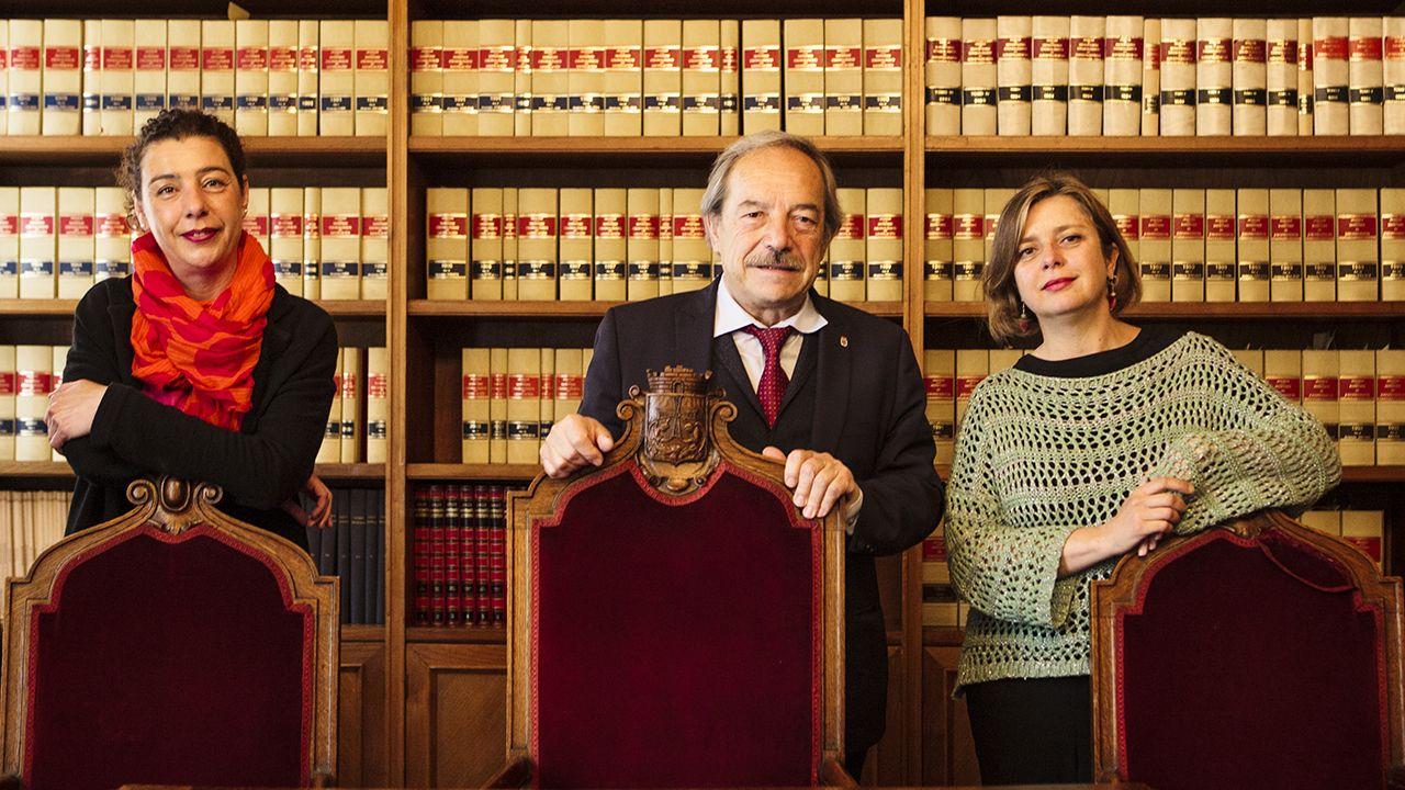 Somos, PSOE e IU se ponen deberes para lo que queda de mandato.José Antonio Bron, expresidente de la Asociación de la Prensa de Oviedo (APO)