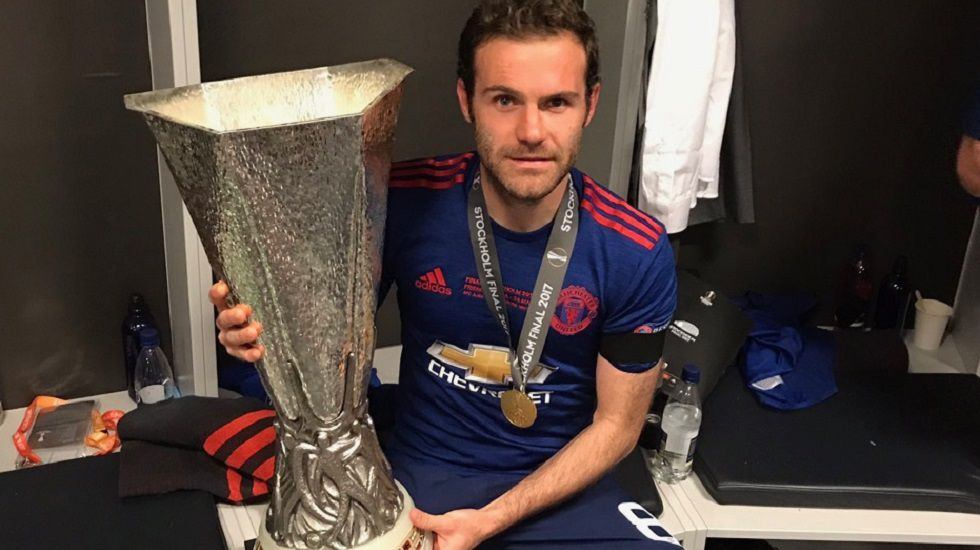 MATA, CON LA EUROPA LEAGUE 2017