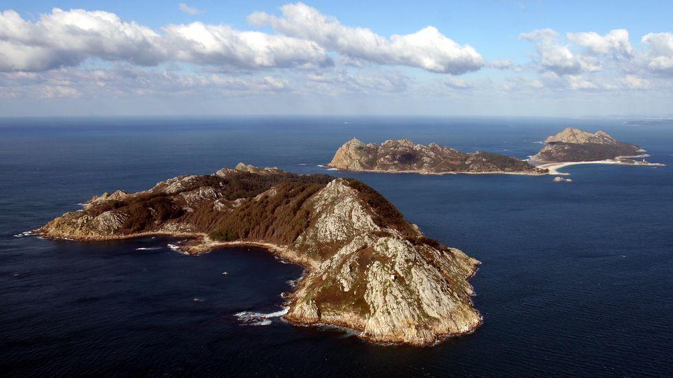 Las paradisíacas islas Cíes, en la Ría de Vigo