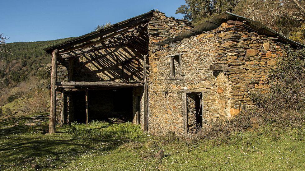 La Caban do Arrieiro, como su nombre indica, está vinculada a las antiguas rutas de transporte
