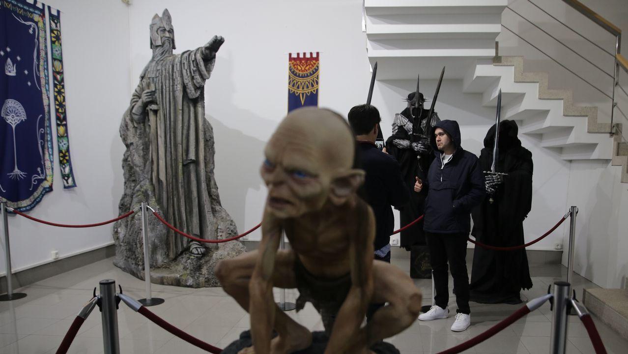 Macarena Gómez levanta el telón del Curtas de Vilagarcía