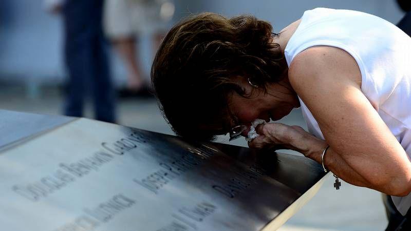 Estados Unidos recuerda a las víctimas del 11-S.La fragata F-101 zarpando del Arsenal el pasado día 4.