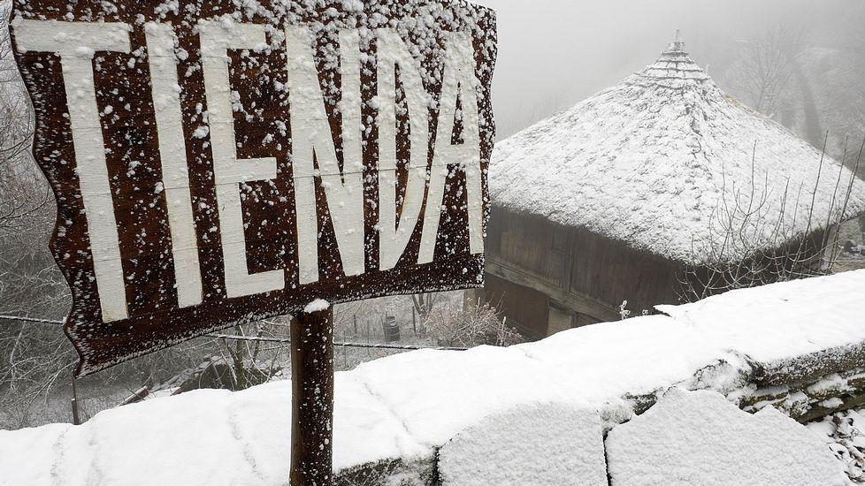 La nieve llega a Galicia para quedarse