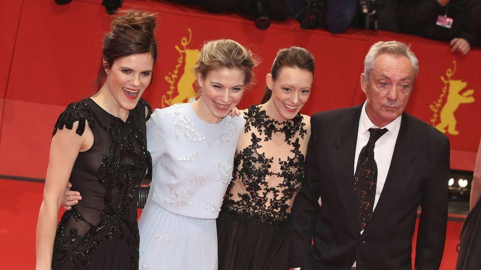 La actriz alemana Fritzi Haberlandt, la austríaca Nora von Waldstaetten, la alemana Lavinia Wilson, y el alemán Udo Kier.