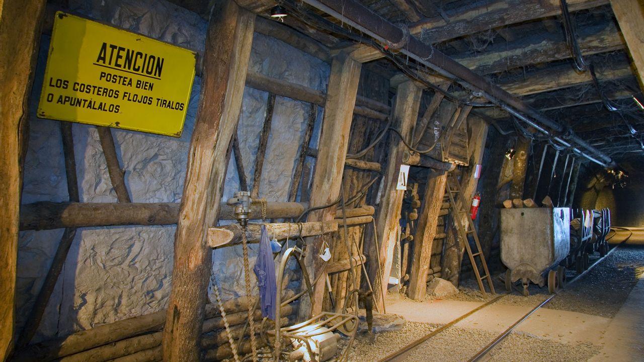 El Museo de la Minería de Asturias permite acceder a las entrañas de la tierra